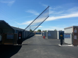 North Coors Self Storage Entrance
